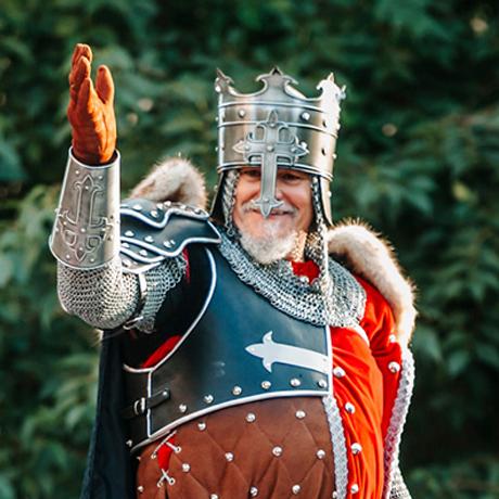 Capitán cristiano filà Cavallers de Llúria