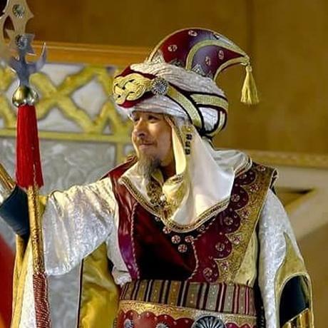 Capitán moro filà Kabileños