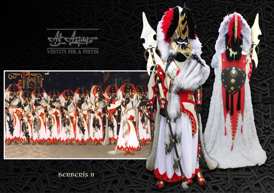 Traje de escuadra de negros Berberís II