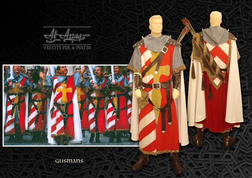 Traje de soldado medieval denominado Gusmans