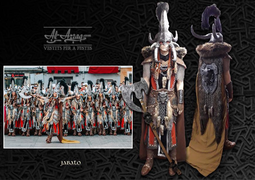 Traje guerrero denominado Jabato