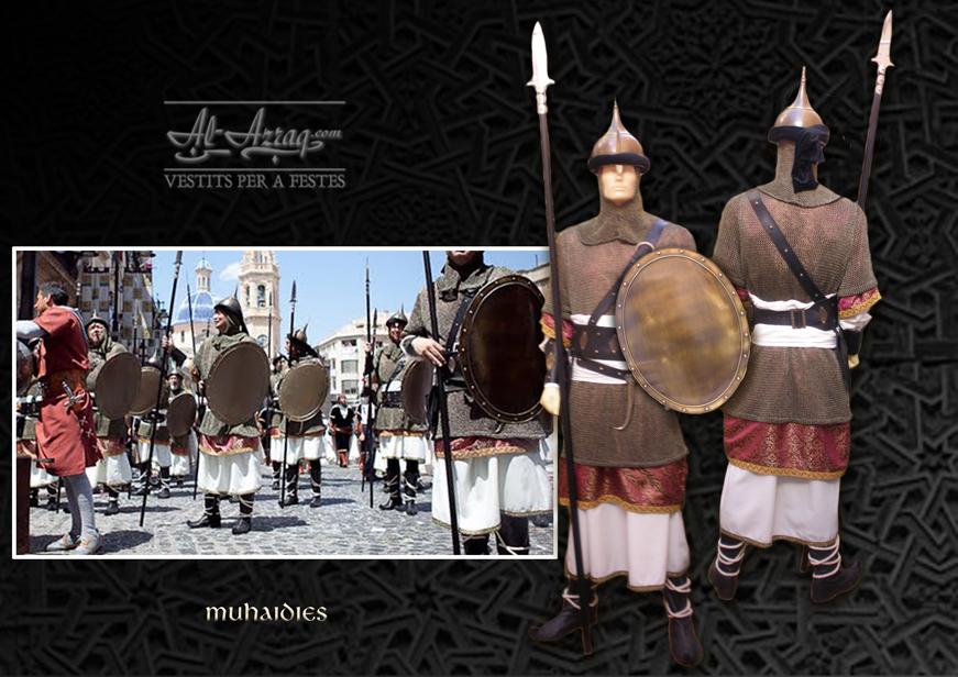 Traje de guardia del califa Muhaidies